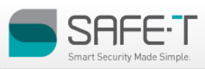 Safe-T Smart Security Made Simple Logo