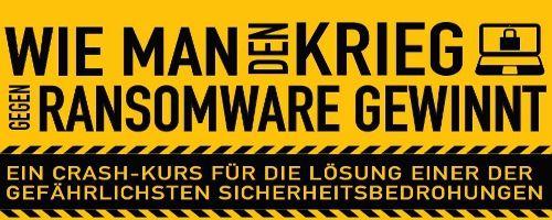 Trustwave Infografik Krieg gegen Ransomware